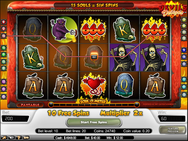 The Devils Delight Slots Review